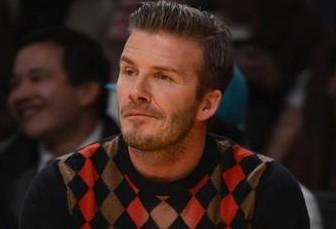 David Beckham audi q3