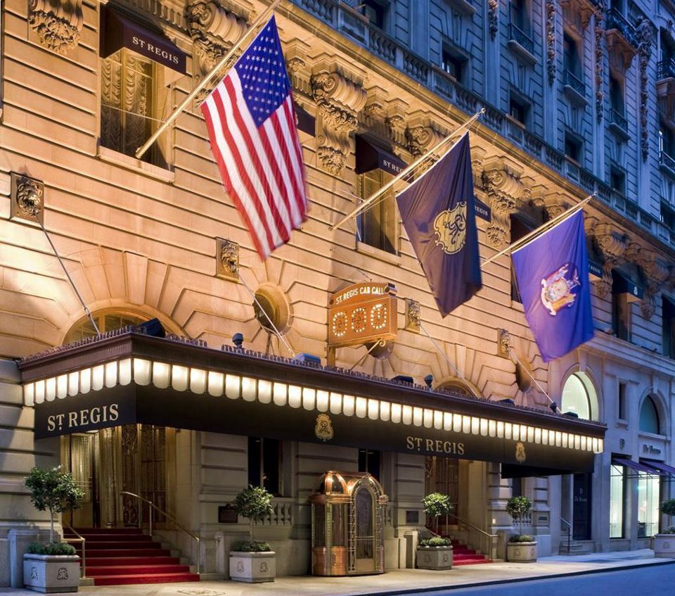 Top 5 luxury hotels in nyc the luxury post for St regis