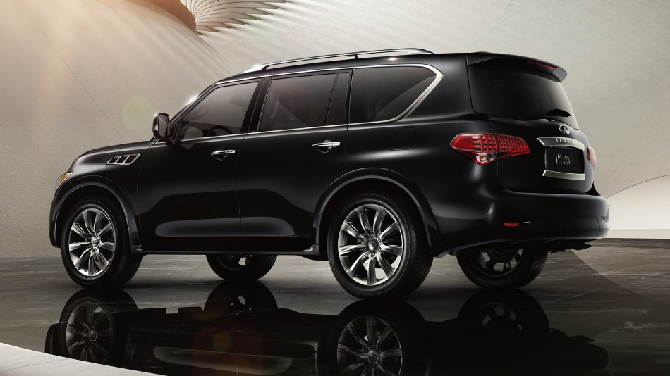 The Infiniti Is A Luxury Suv Fit For The Family The