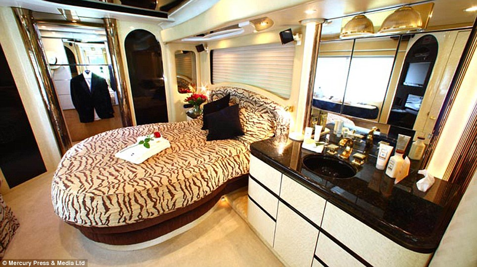 Former F1 Tour Bus Of Champions Now For Rent As A 7 Star Luxury