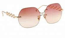 $25,000 Bespoke Linda Farrow sunglasses now available at Key Of Aurora