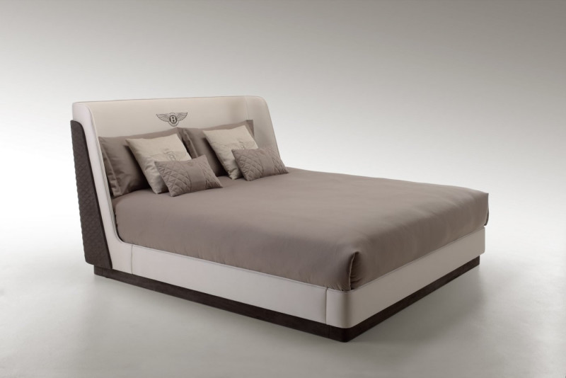 Luxury Bedroom Furniture Brands new pieces of bentley luxury furniture debuts in paris | the