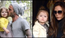 "2 year old Harper Beckham is truly ""Daddy's Girl"" with £600,000 Damien Hirst artwork"