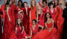 Seeing Red: Celebrities take over the runway for The Heart Truth Campaign