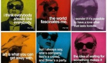 A first look at the newly opened Andy Warhol Pop Up Cafe