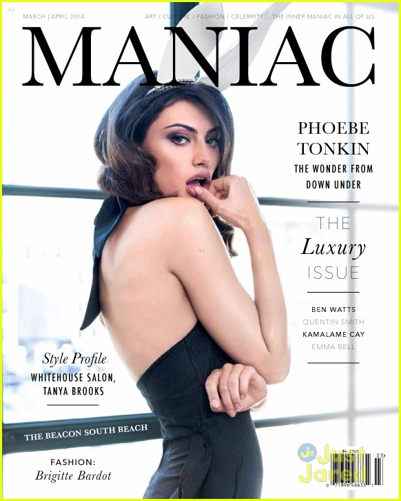 Phoebe Tonkin Sizzles On The Cover Of Maniac S Luxury Issue The Luxury Post