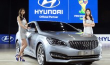 "Hyundai reveals ""AG"", their 3rd luxury sedan"