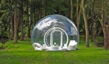 Staying in the outdoors just got more luxurious with Casa Bubble