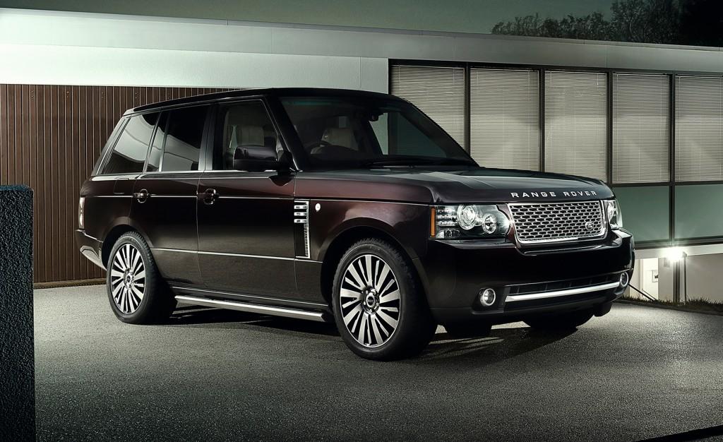 Range Rover Autobiography Model