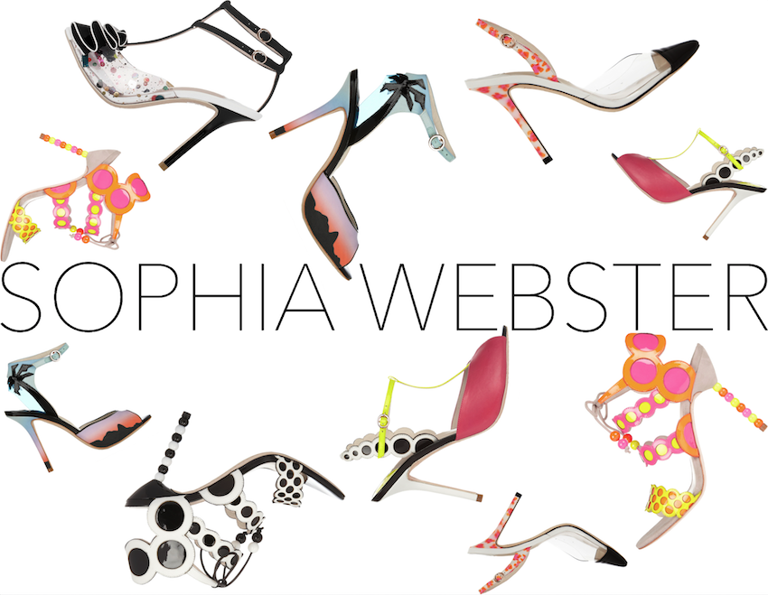 sophia webster shares shoes the luxury post