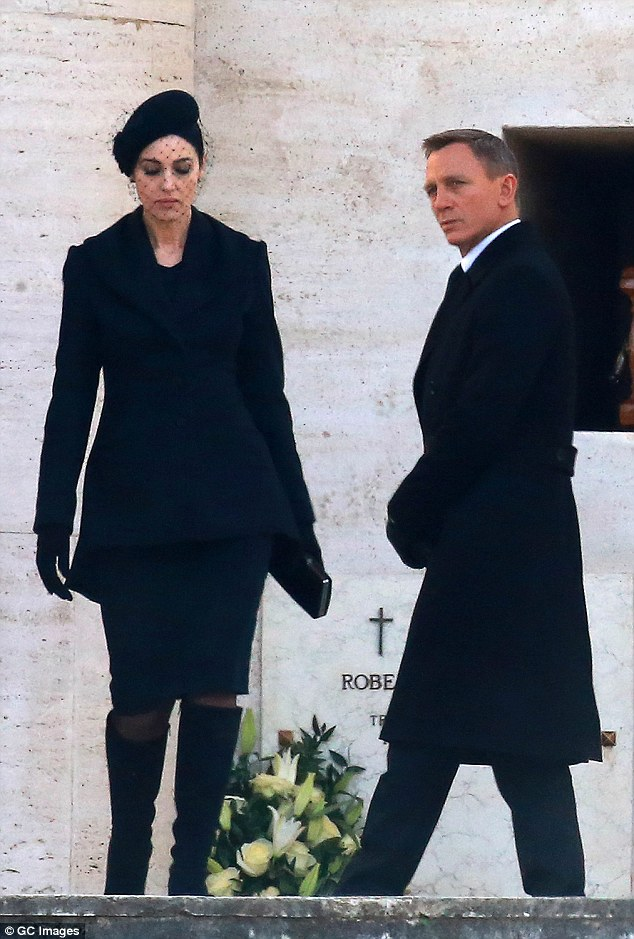 Daniel Craig and Belluci