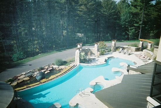 Top Floor View of Pool
