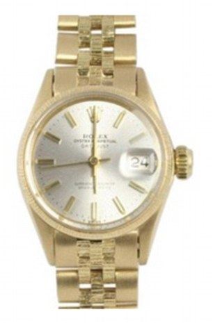 Rolex yellow gold Oyster Perpetual