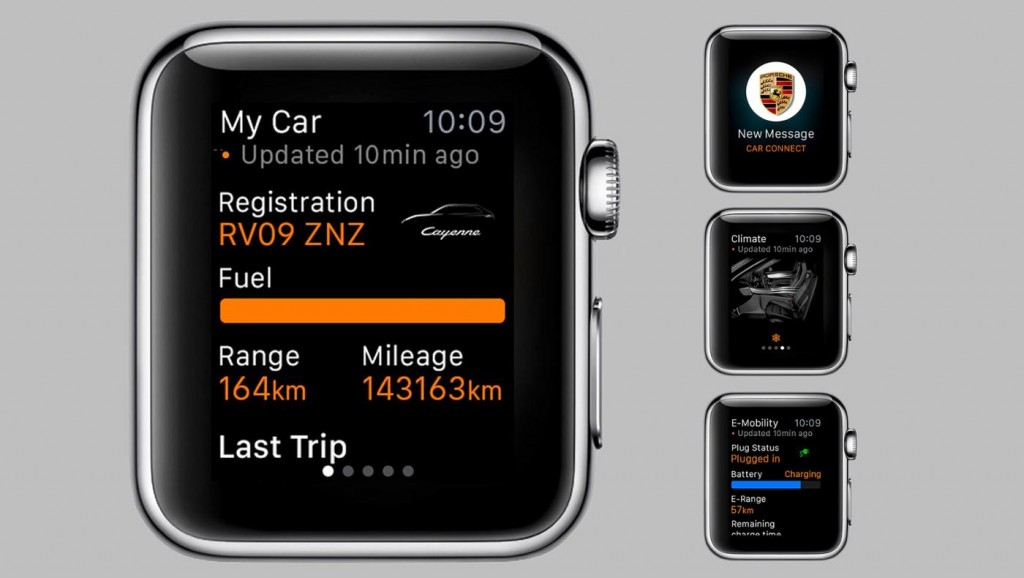 Porsche Apple Watch App