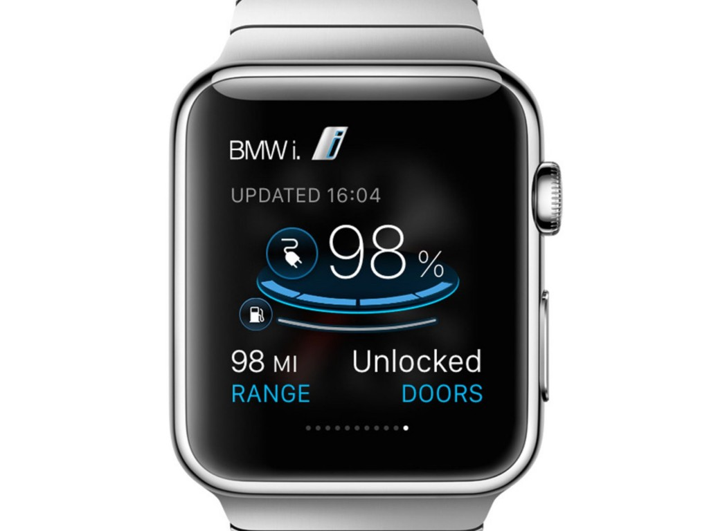 BMW Apple Watch App