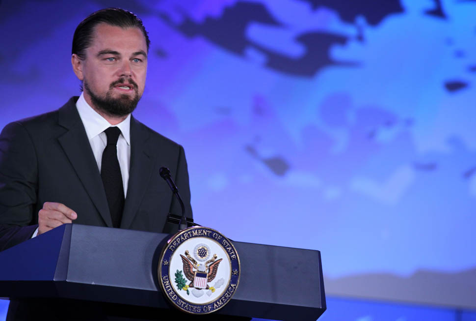 Leo speaks on our oceans