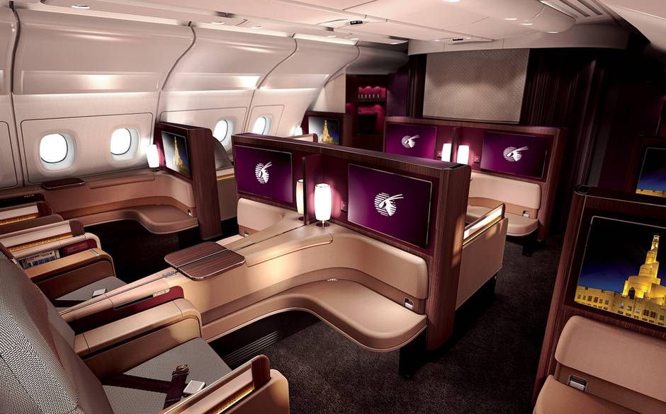 First Class - Qatar Airways