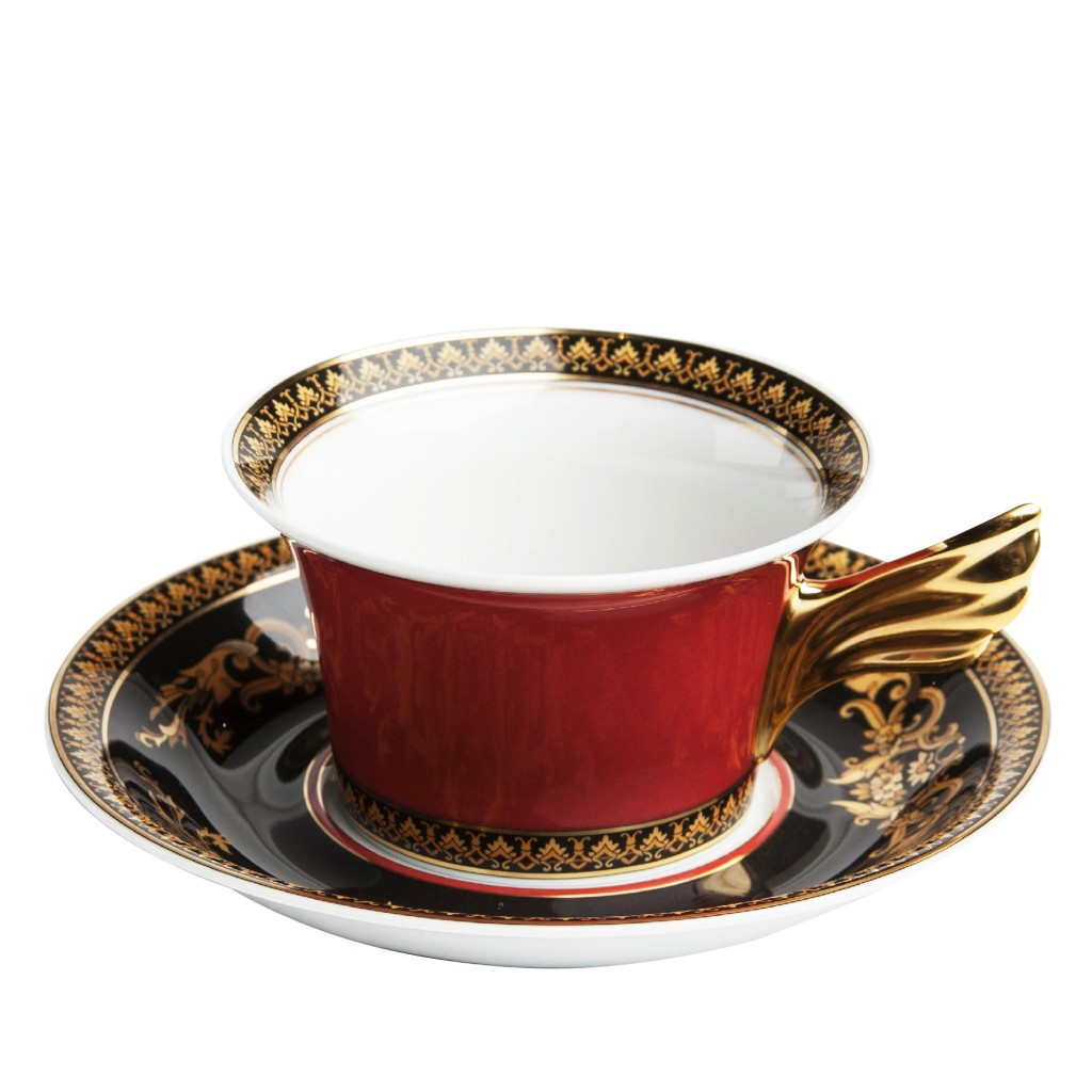 Medusa Tea Cup & Saucer - $276